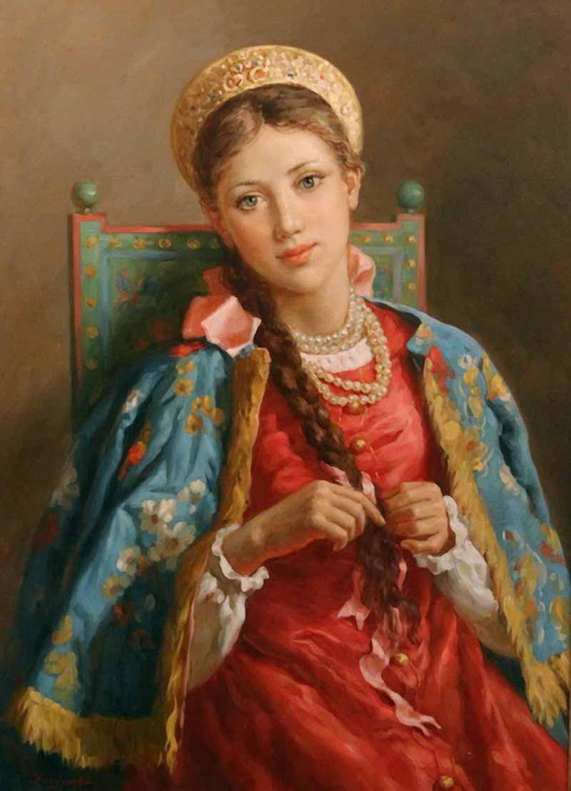 Славянская женщина