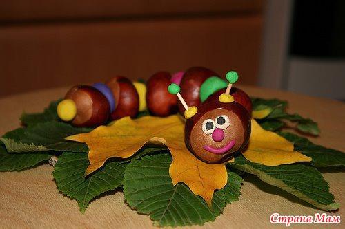 Осень руками детей.