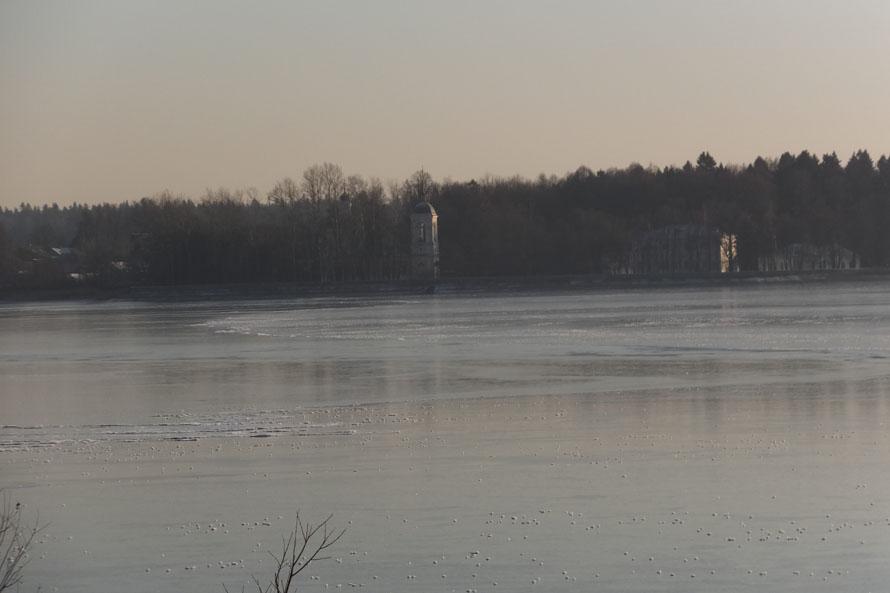 пейзаж озерны