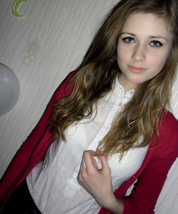 девушек фото 14 лет