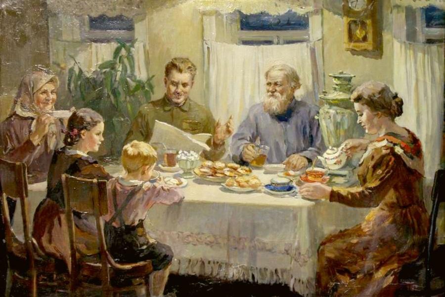 Простая советская семья
