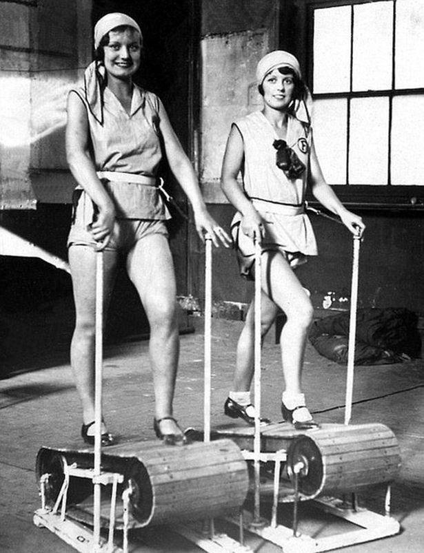fitness01 Как выглядел фитнес начала ХХ века