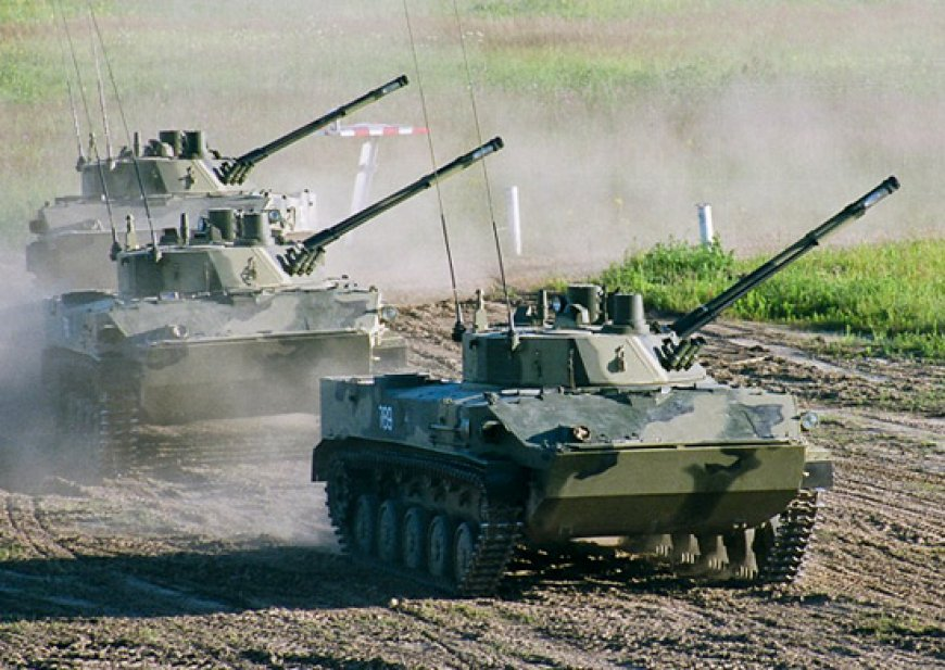 «Истребитель танков» усилит ВДВ: модернизированный «Спрут» поступит на вооружение в 2019 году