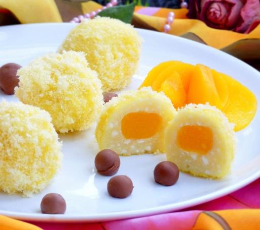 Десерт для малышей - творожные солнышки