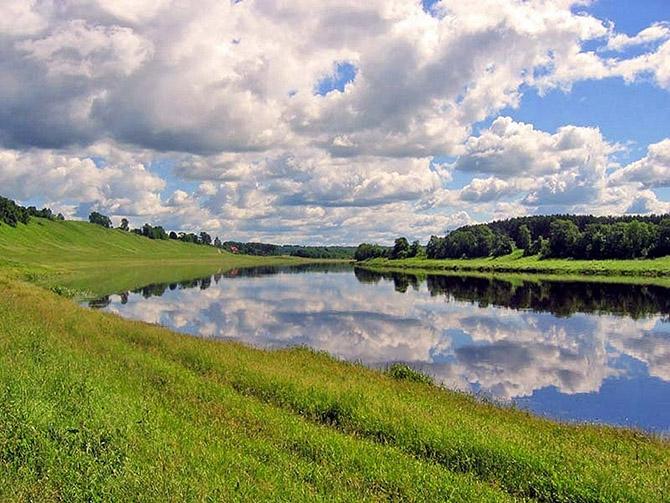 Великая и прекрасная река волга
