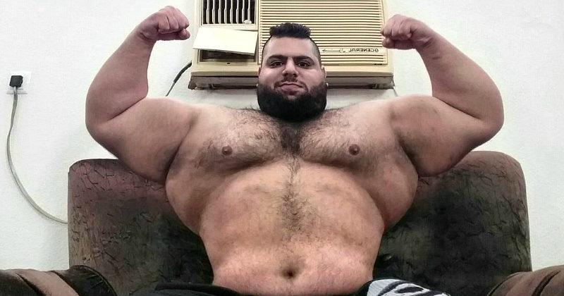 Человек размером споезд: «Иранский Халк» делится подробностями своей жизни исобирается вММА