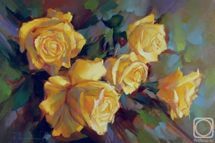 Шалаев Алексей. Розы на ветру