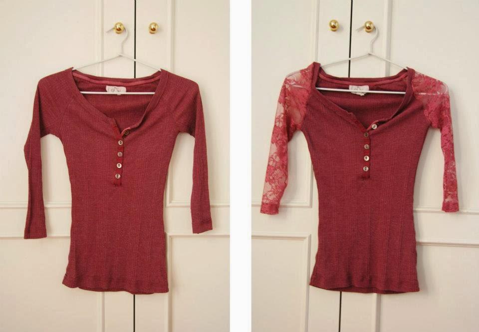 Идеи переделок одежды - 2