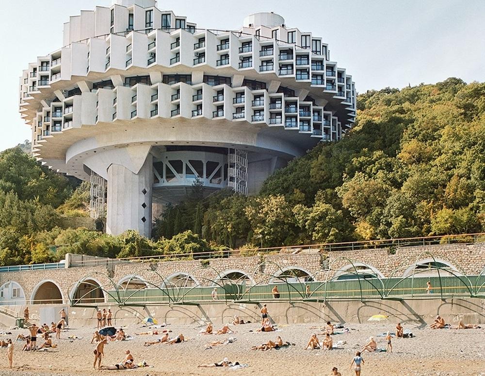 Футуристичная советская архитектура