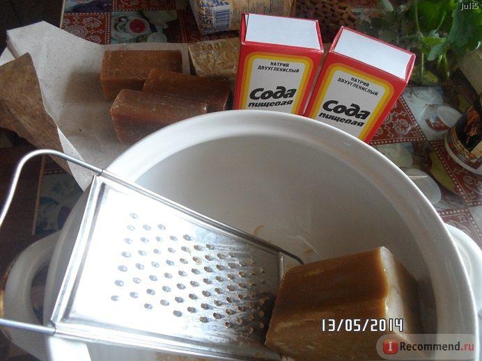 Как сделать моющее средство из хозяйственного мыла
