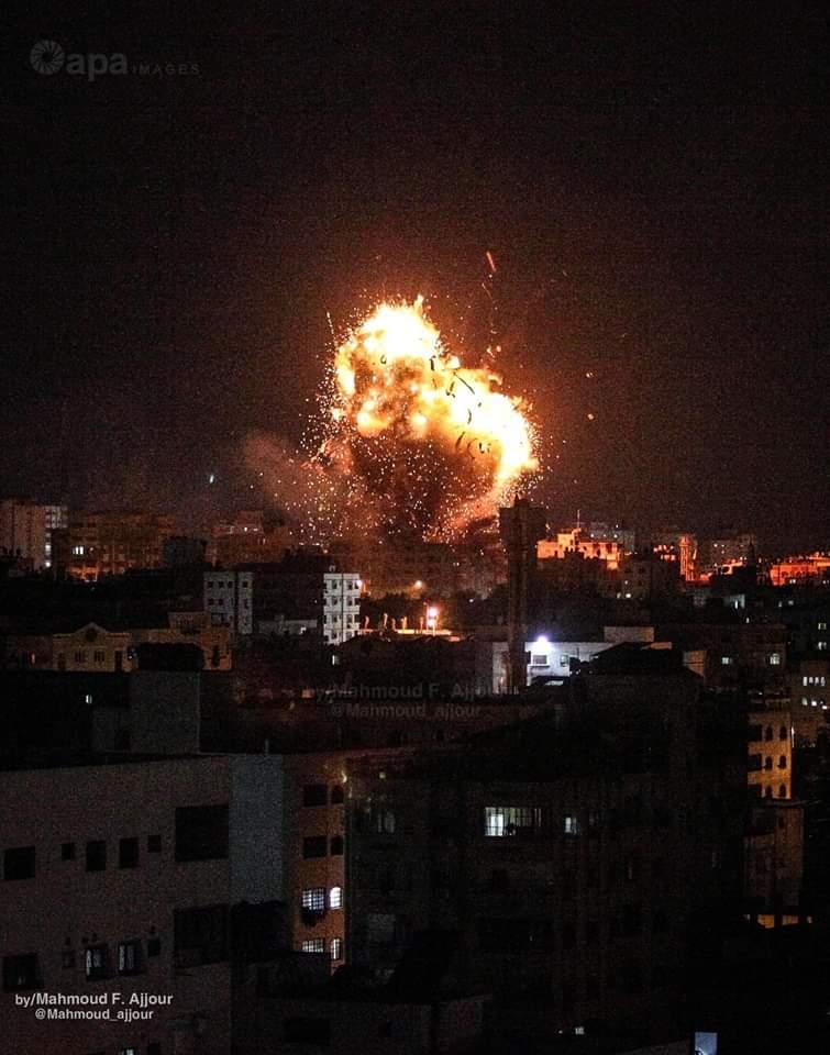 Бомбардировки Газы 12.11.2018