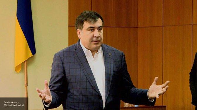 Саакашвили попытался оправдаться за «фото в кустах» на инаугурации Трампа