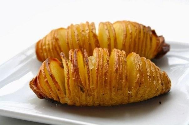 Печеный картофель по-шведски
