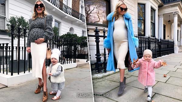 13 стильных образов для будущих мамочек, в которых легко выглядеть красивой даже с животиком