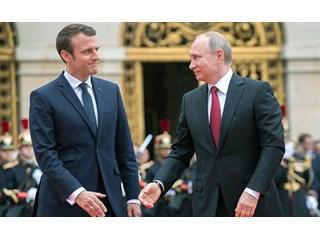 Макрон насмешил равнением на Путина