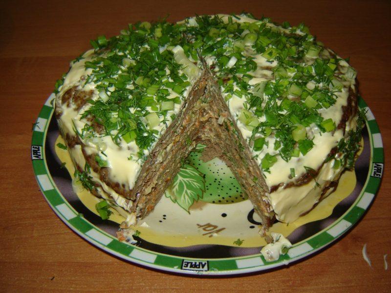 Печеночный торт. Самый правильный рецепт!