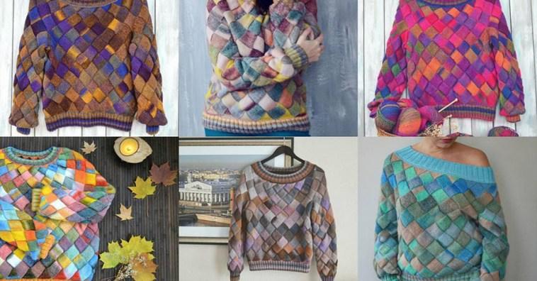 Как сделать вязаную вещь модной и оригинальной