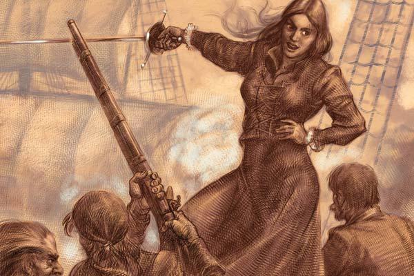Грануаль - королева пиратов