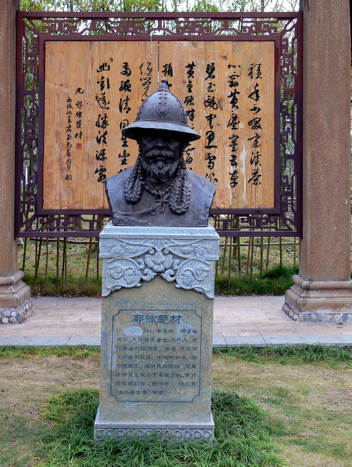 Китайский источник о первых монгольских ханах. Надгробная надпись на могиле Елюй Чу-Цая. Перевод и исследование