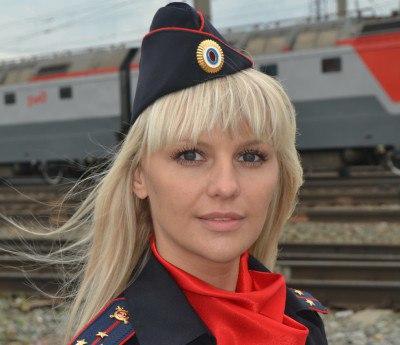 Валентина Кондрина на ходу з…