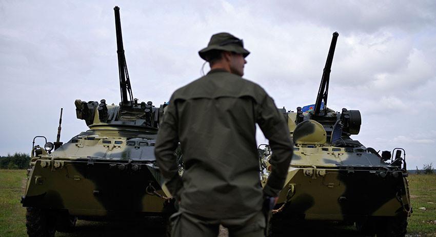 ВС Украины «зачистили» насел…