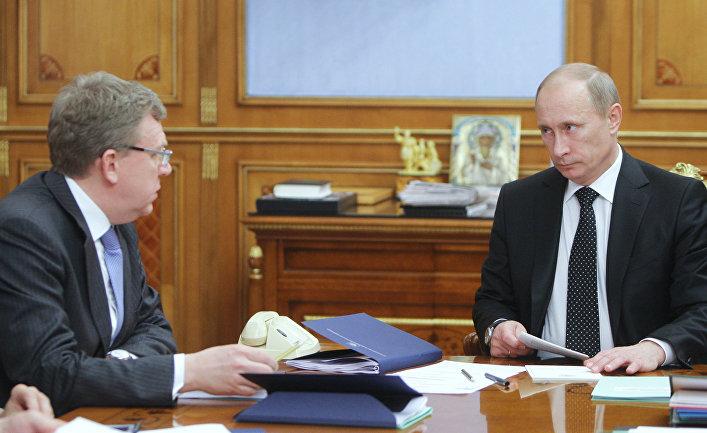 Путин встретился с Кудриным.…