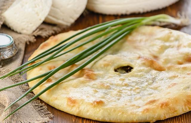 Осетинские пироги с сыром и брынзой