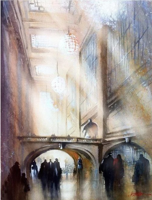 художник Thomas W. Schaller (Ð¢Ð¾Ð¼Ð°Ñ Ð¨Ð°Ð»Ð»ÐµÑ€) картины - 21