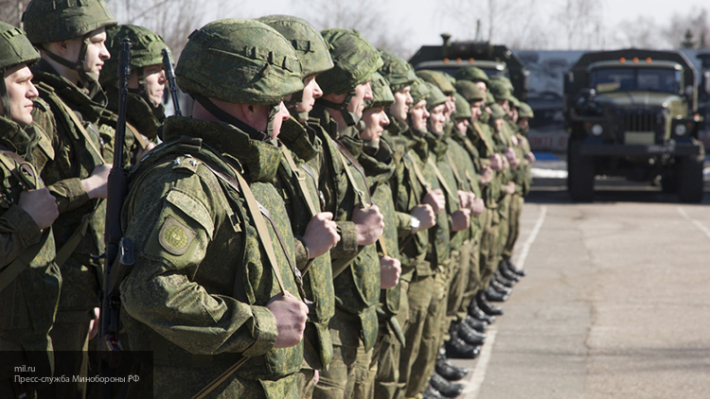 Численность вооруженных сил России стала больше на 13 тысяч человек
