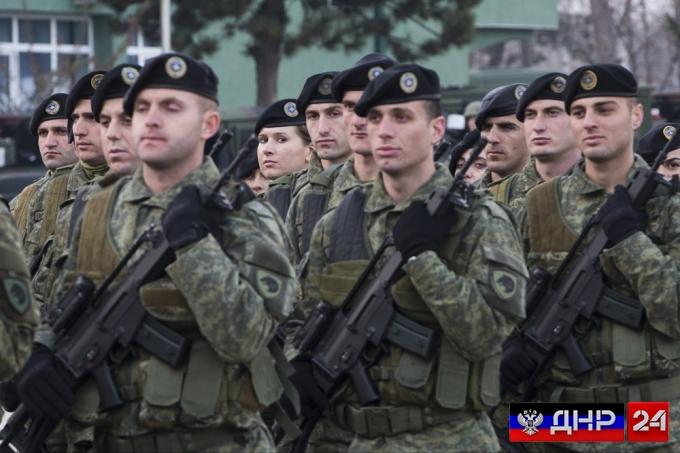 Косово приступило к созданию собственной армии