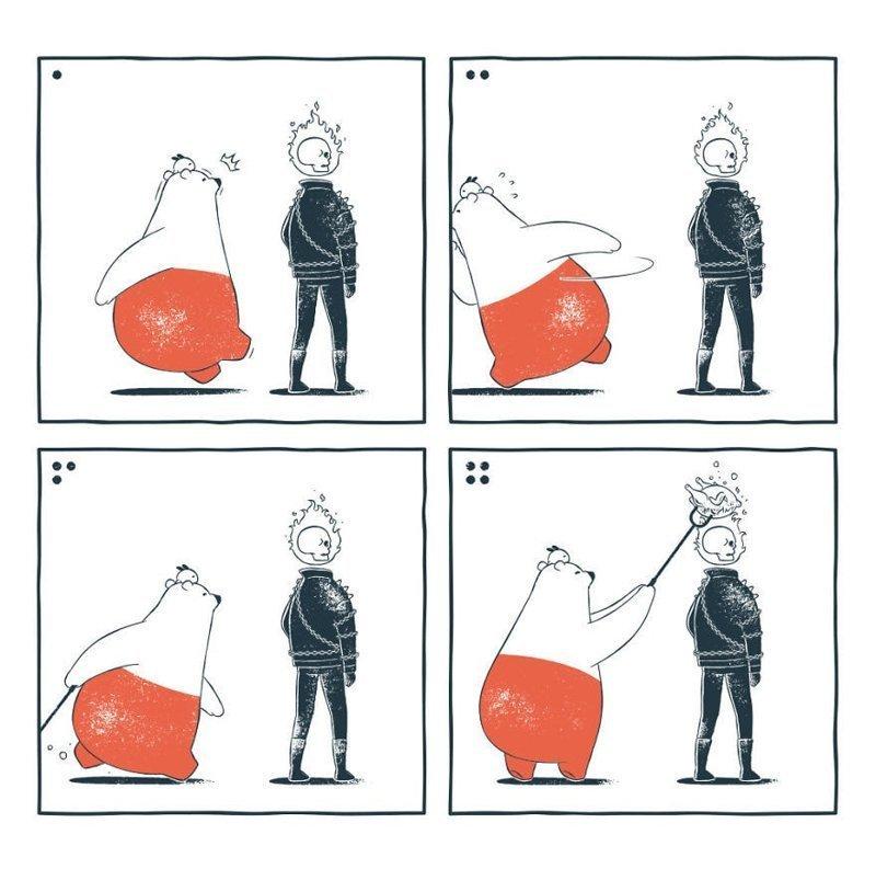 «Многофункциональность» забавно, комиксы, подборка, рисунки, юмор