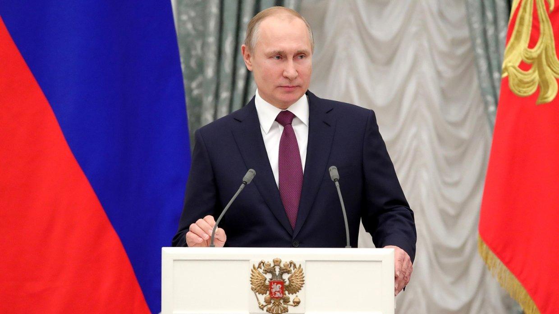 Путин рассказал о молодых ра…