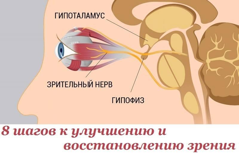 8 шагов к улучшению и восстановлению зрения.