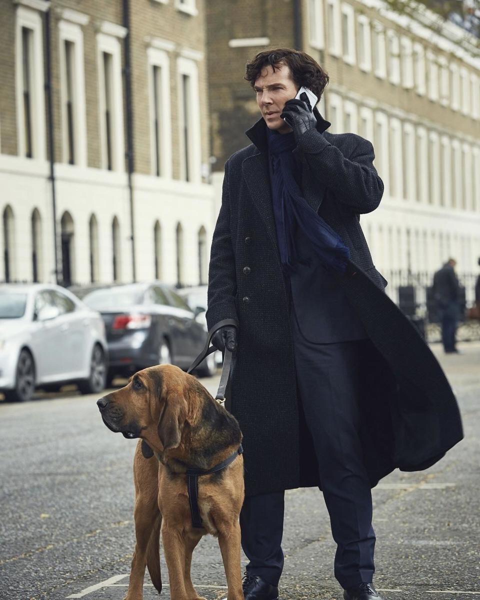 Шерлок Холмс и другие самые стильные мужчины — герои сериалов