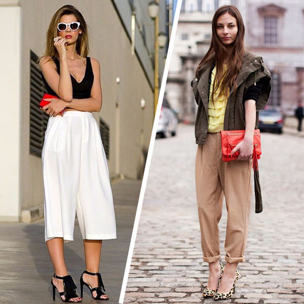Чиносы, кюлоты, джоггеры: с чем носить модные модели брюк