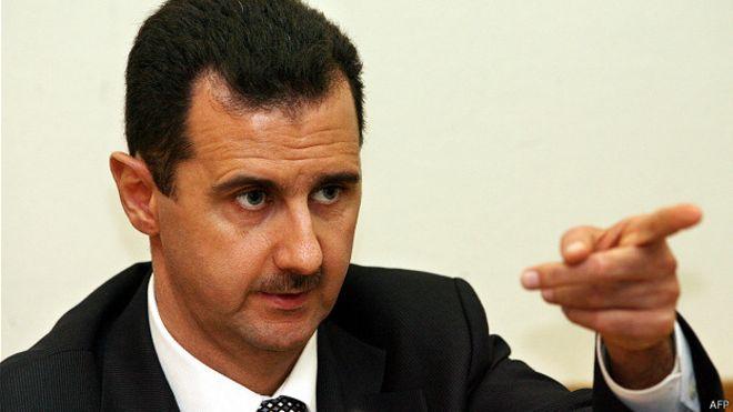 Президент Сирии обвинил Запад в поддержке боевиков