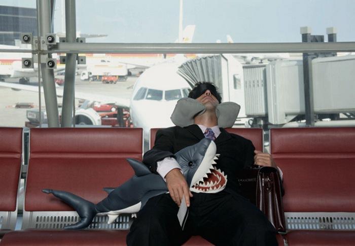 Ожидание в аэропорту.