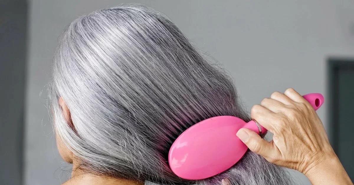 Семь безопасных способов и средств оттенить седые волосы в домашних условиях женщине 50+