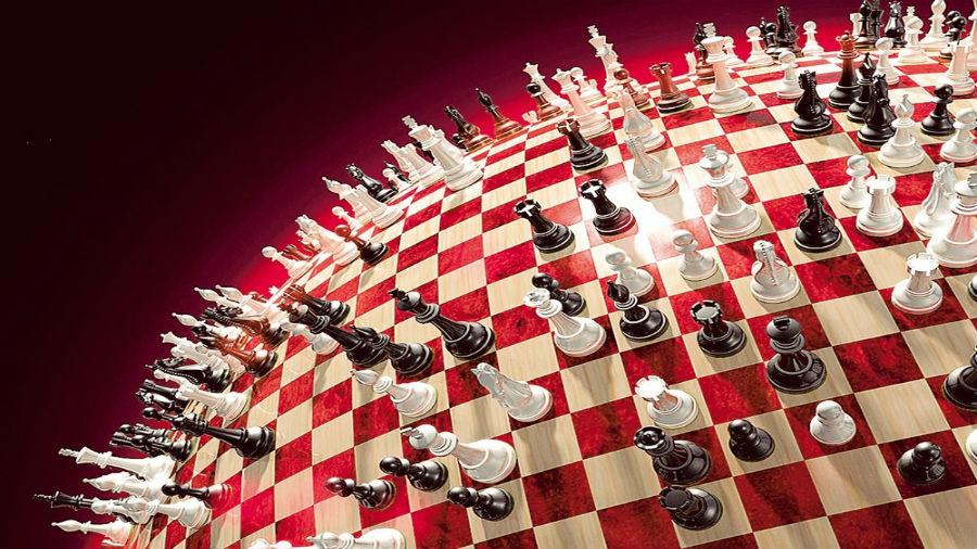 Великая шахматная доска: анг…