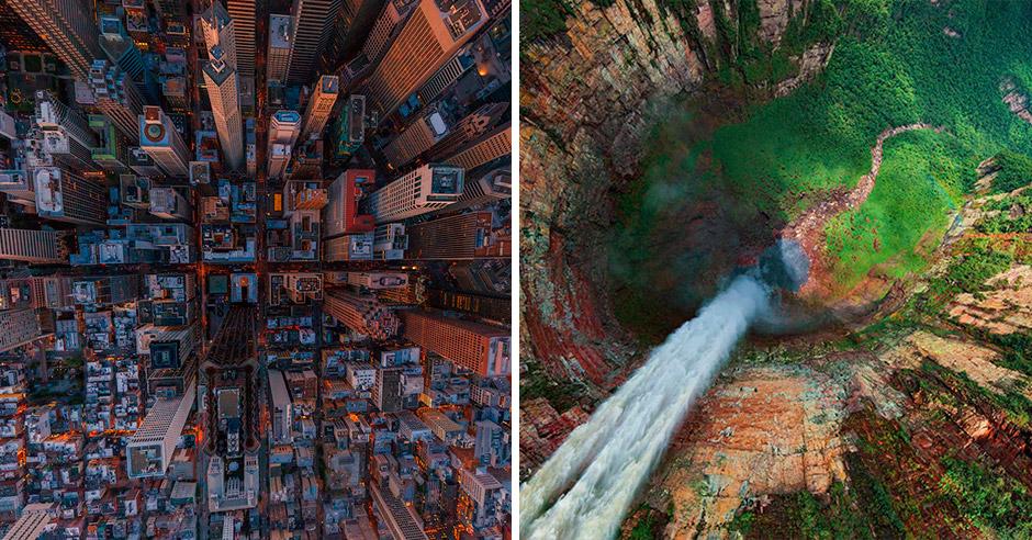 25 красивейших снимков с высоты птичьего полета, от которых у вас закружится голова