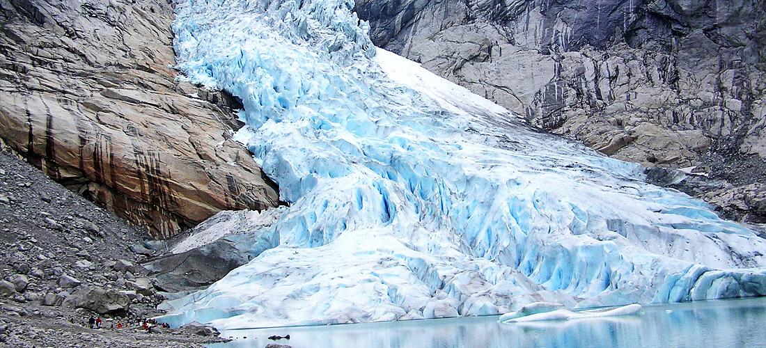 Фото Ледник Бриксдаль. Ледяные чудеса природы. Фото с сайта NewPix.ru