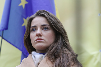 В Киеве 27-летнюю соратницу Саакашвили заподозрили в коррупции