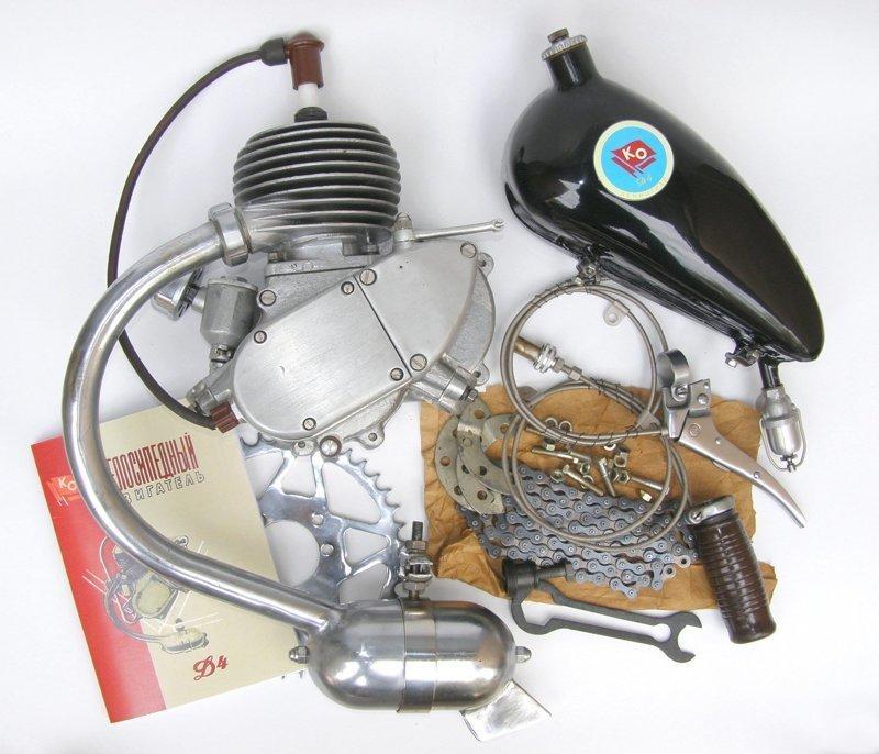 «Дэшник» первая ступень моторизации