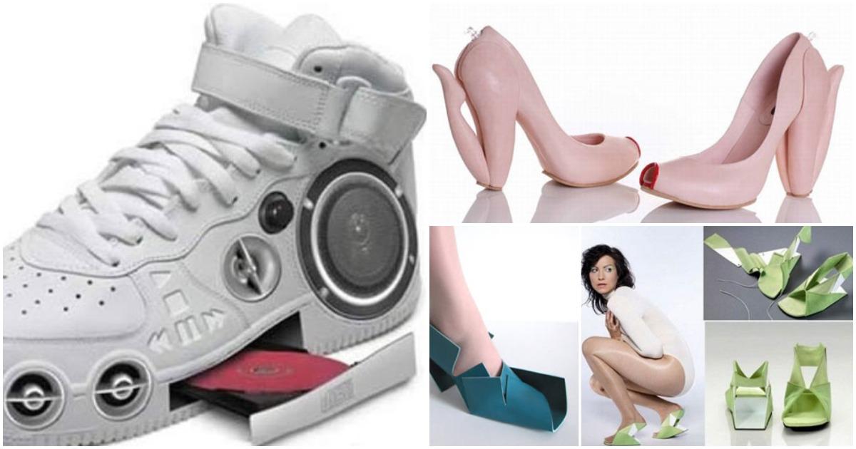 Самая странная обувь: креатив, граничащий с безумием
