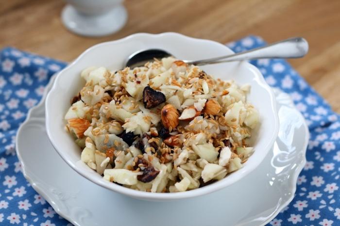 Полезный завтрак на скорую руку.  Фото: nogibogi.com.