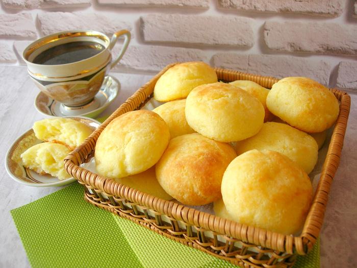 Бразильские сырные булочки (Po de queijo)