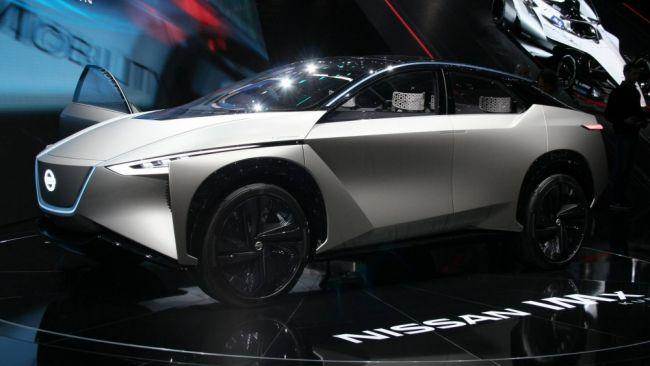 Новый электрокроссовер от Nissan
