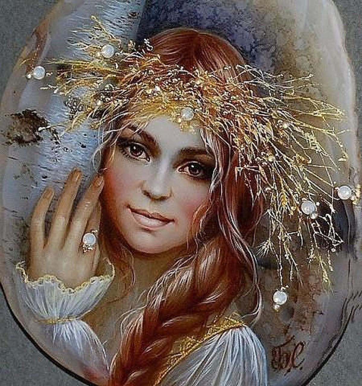 Сказочные работы Светланы Беловодовой