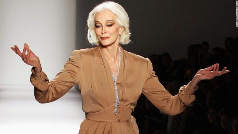 86-летняя Кармен Делль'Орефиче на страницах «Vogue»