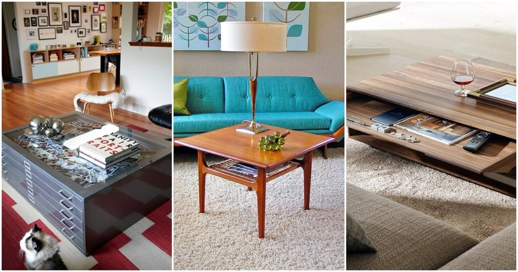 Идеи журнального столика, которые украсят интерьер вашего дома